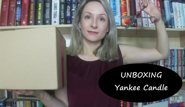 unboxing - yankee candle